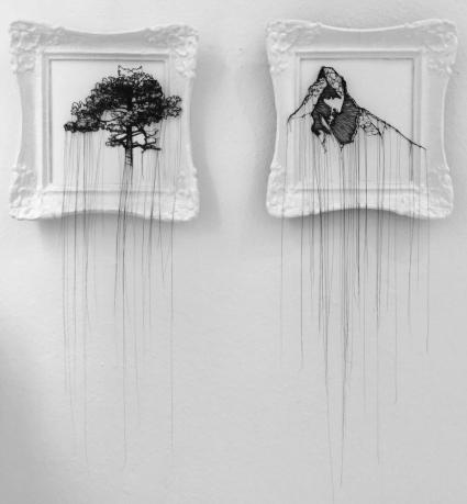 """Landschaft I + II"""